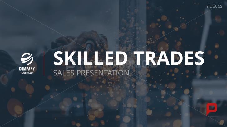 Sales Presentation – Skilled Trades