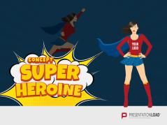 Superheroine Concept _https://www.presentationload.com/superheroine-concept.html