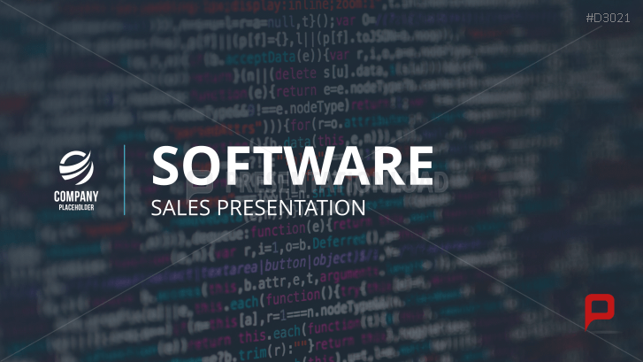 Sales Presentation – Software