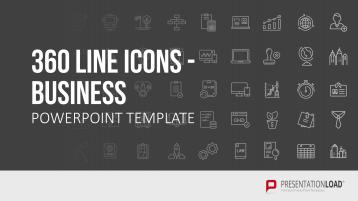 Line Icons - Business _https://www.presentationload.de/line-icons-business.html