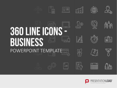 Line Icons - Business _https://www.presentationload.de/line-icons-business.html