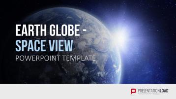 [NEU] Earth Globes - Space View (Animiert) _https://www.presentationload.de/neue-powerpoint-vorlagen/Earth-Globe-Space-View-Animiert.html