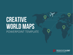 Mapas creativos del mundo _https://www.presentationload.es/design-world-maps-oxid-1.html