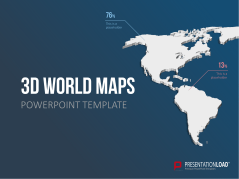 3D World Maps _https://www.presentationload.com/3d-world-maps.html
