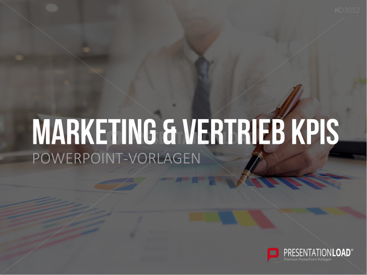Marketing & Vertrieb KPIs _https://www.presentationload.de/kpis-marketing-vertrieb-powerpoint-vorlage.html