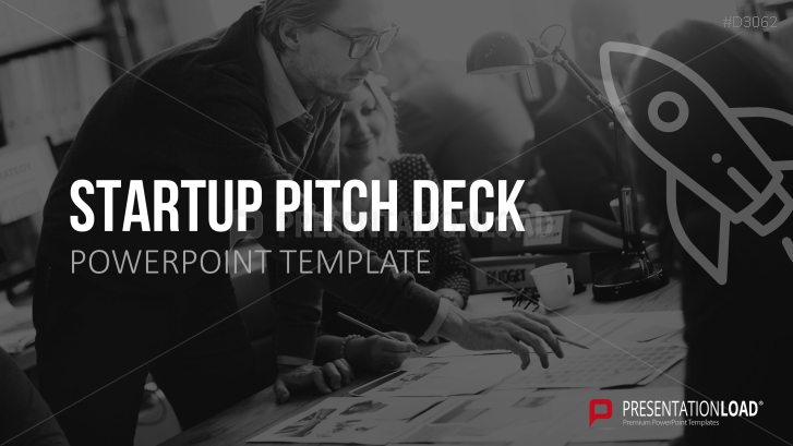 Startup pitch deck (Presentación de una empresa emergente)