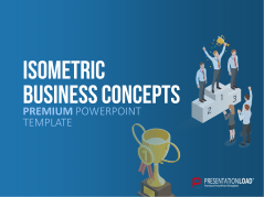 Concepts d'affaires isométriques _https://www.presentationload.fr/powerpoint-isometric-business-concepts-fr.html