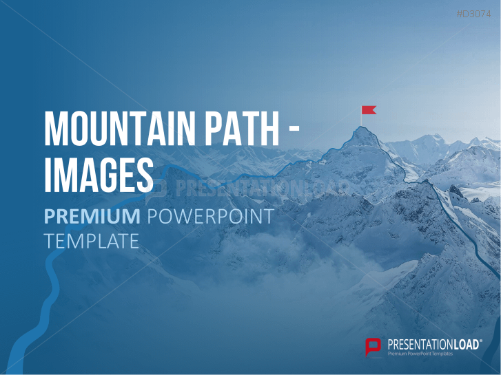 Imágenes de senderos de montaña (mountain path) _https://www.presentationload.es/powerpoint-plantilla-montana.html
