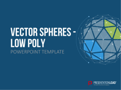 Vector Spheres - Low Poly _https://www.presentationload.com/vector-spheres-low-poly.html