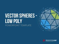 Low Poly Kugeln (vektorbasiert) _https://www.presentationload.de/powerpoint-vektor-kugeln.html