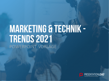 Marketing und Technik Trends 2021 _https://www.presentationload.de/ppt-vorlage-marketing-technik-trends.html