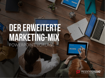 Der erweiterte Marketing-Mix _https://www.presentationload.de/marketing-mix-powerpoint-vorlage.html