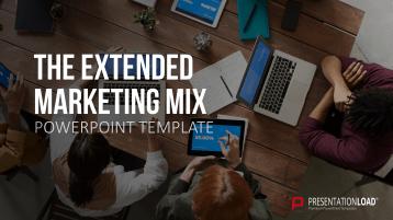 The Extended Marketing Mix _https://www.presentationload.com/en/digital-marketing-ppt-presentations/The-Extended-Marketing-Mix.html