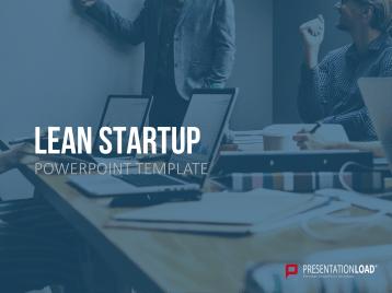 Lean Startup _https://www.presentationload.es/lean-startup-ppt-plantilla.html
