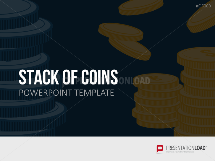 Stack of Coins _https://www.presentationload.de/stack-of-coins.html