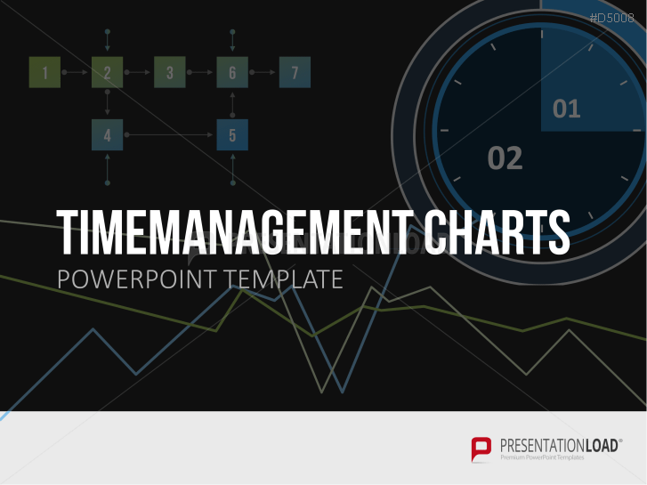 Zeitmanagement Charts _https://www.presentationload.de/zeitmanagement-charts.html