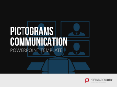 Pictograms – Communication _https://www.presentationload.com/pictograms-communication.html