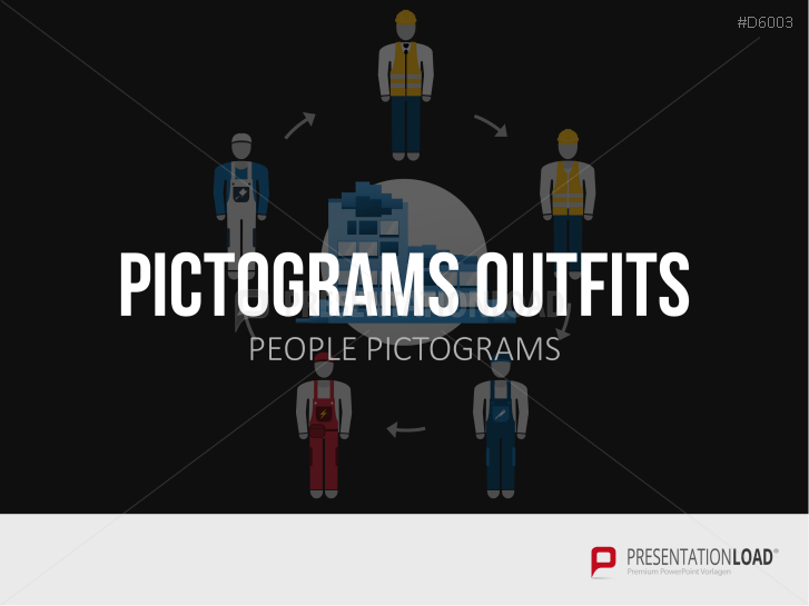 Pictograms Outfits _https://www.presentationload.de/pictograms-outfits.html