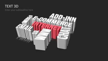 Textos tridimensionales _https://www.presentationload.es/es/powerpoint-diapositivas-diagramas/lists/Textos-tridimensionales.html