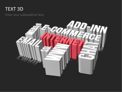 Texte 3D _https://www.presentationload.fr/texte-3d-1.html