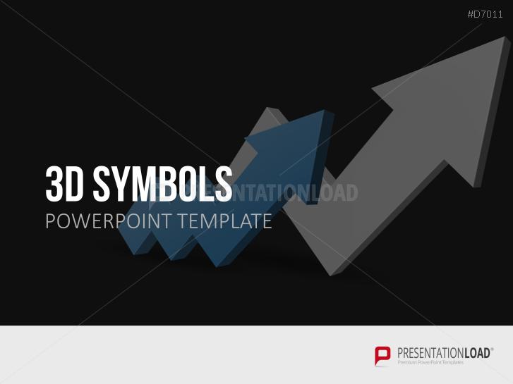 Symboles 3D _https://www.presentationload.fr/3d-symbols.html