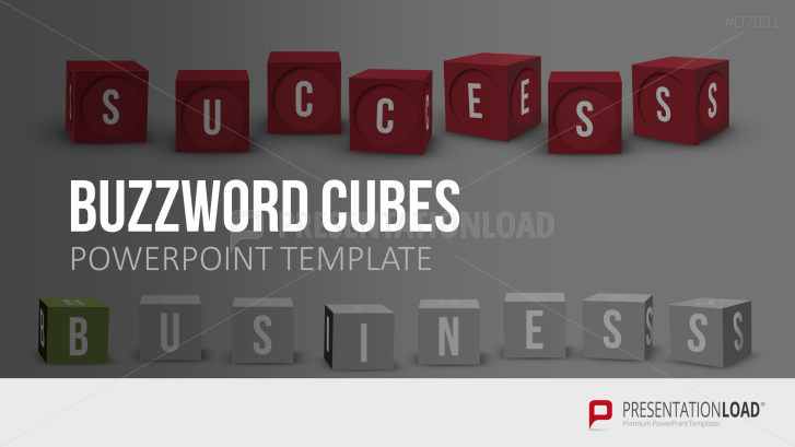 Buchstabenwürfel (Buzzword Cubes)