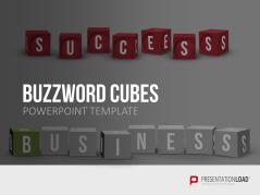 Cubos de letras (Buzzword Cubes) _https://www.presentationload.es/buzzword-cubes.html