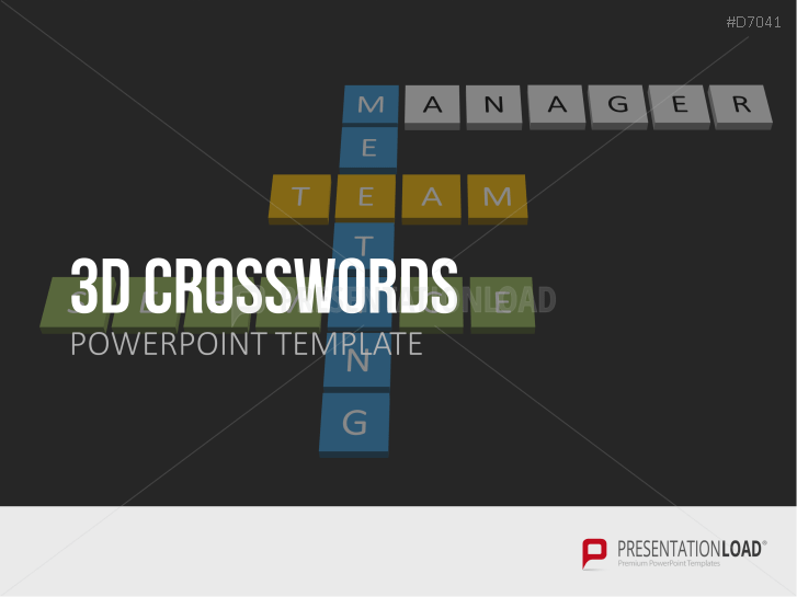 3D Crosswords _https://www.presentationload.com/3d-crosswords.html