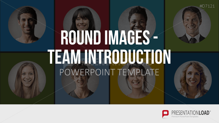 Round Images - Team Introduction