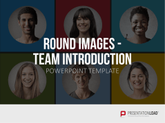 Round Images - Team Introduction _https://www.presentationload.com/round-images-team-intro.html