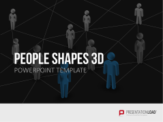 People Shapes 3D _http://www.presentationload.com/3d-people-shapes.html