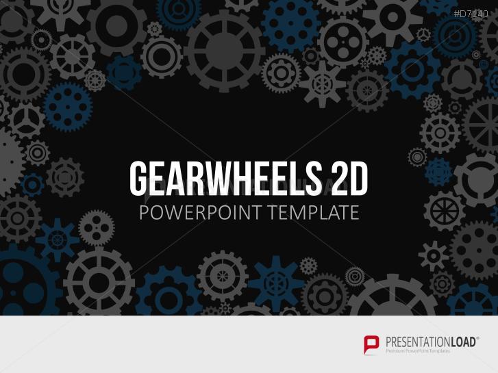 Ruedas dentadas bidimensionales _https://www.presentationload.es/gearwheel-2d-es.html