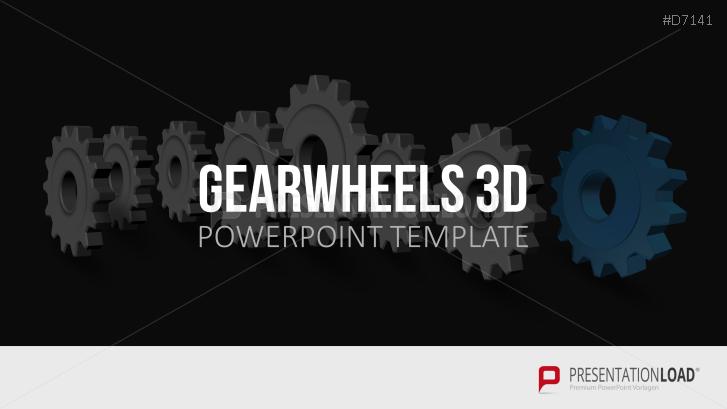 Gearwheels 3D