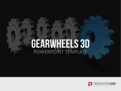 Zahnräder 3D _https://www.presentationload.de/zahnraeder.html