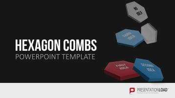 Hexagon Combs _https://www.presentationload.com/hexagon-honeycombs.html