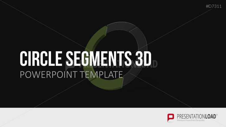 Kreis-Segmente 3D