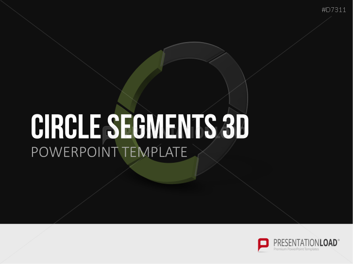 Circle Segments 3D _http://www.presentationload.com/3d-circle-segments.html