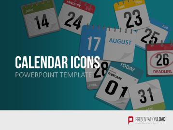 PowerPoint Calendar Icons