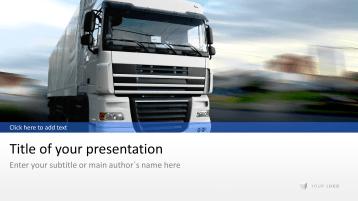 Transport - Logistik _https://www.presentationload.de/branchen/logistik/Transport-Logistik.html