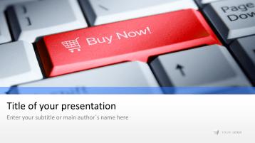 3D Button - Shopping _https://www.presentationload.com/3d-button-shopping.html