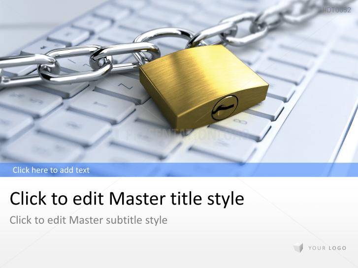 Tastatur mit Schloss (Security) _https://www.presentationload.de/tastatur-schloss-sicherheit.html
