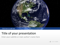 Globus mit Universum _https://www.presentationload.de/globus-universum.html