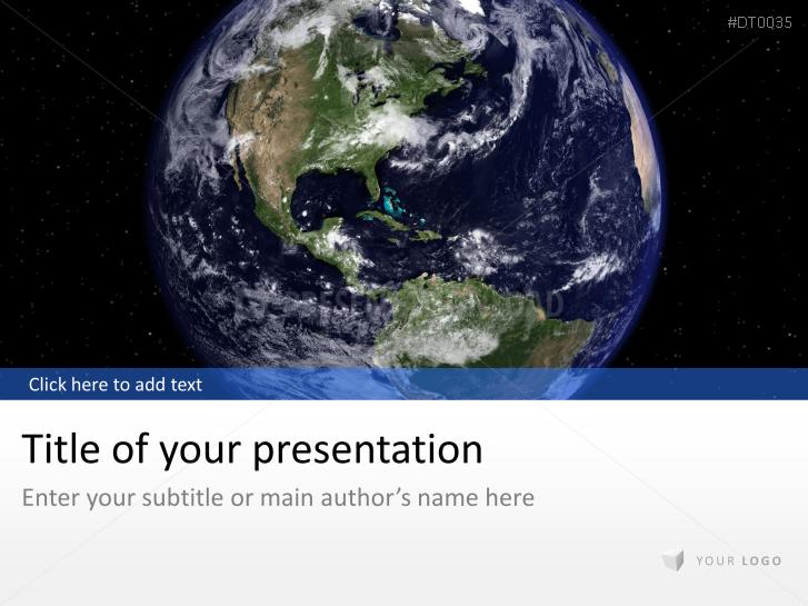 Globo con el universo _https://www.presentationload.es/globe-universe-1.html