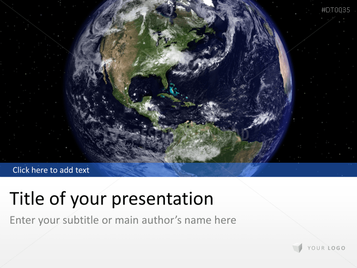 Globe avec univers _https://www.presentationload.fr/globe-universe-1-1.html