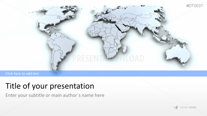 Map Of The World 3d.Presentationload 3d Map Of The World