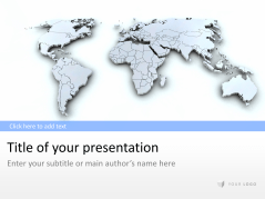 3D Map of the World _https://www.presentationload.com/3d-worldmap.html