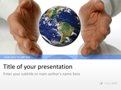 Globe with Hands _https://www.presentationload.com/globe-hands.html