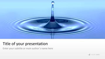 Water Drop _https://www.presentationload.com/water-drop.html