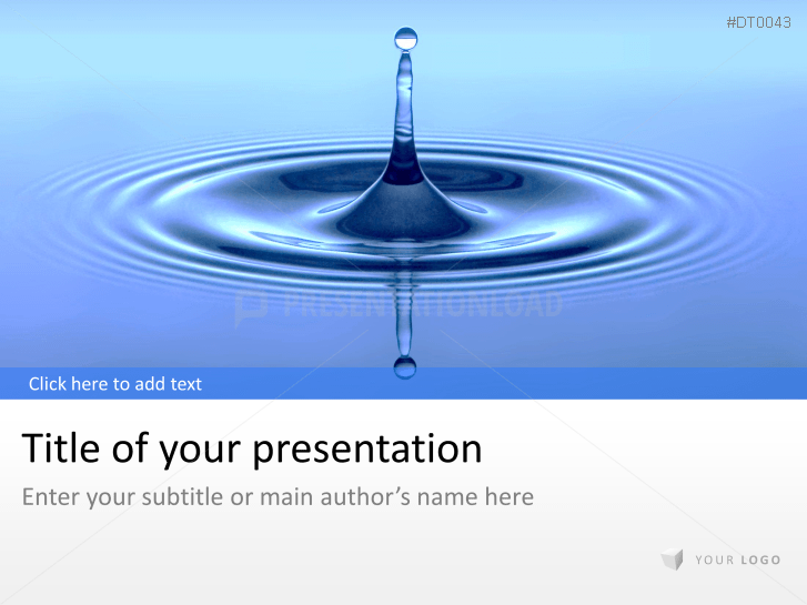 Water Drop _https://www.presentationload.com/water-drop.html