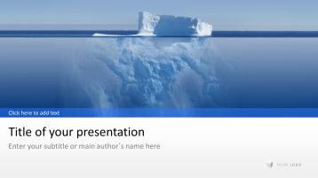 Iceberg _https://www.presentationload.com/iceberg-1.html